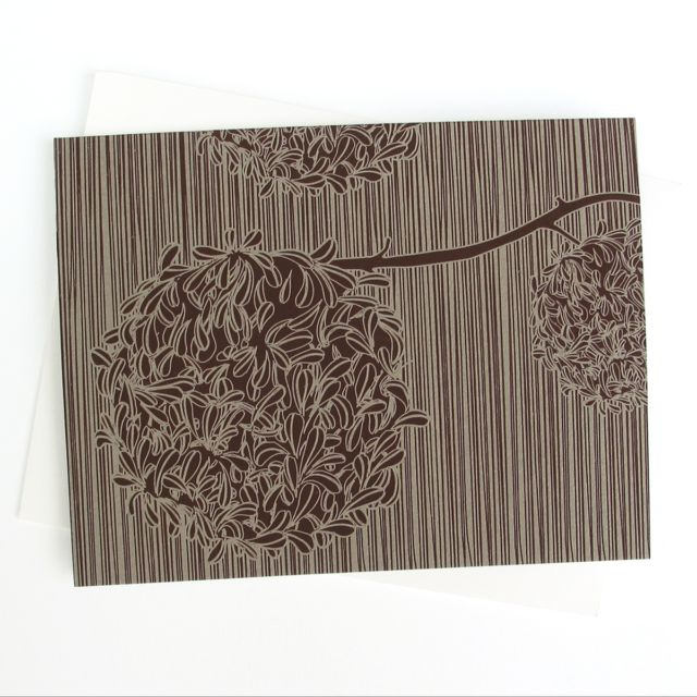 Brown Flower #1404