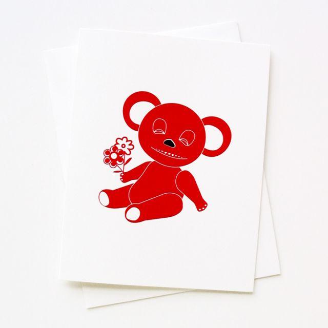 Woozy Happy Bear #2509