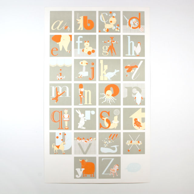 BINTH Alphabet Poster