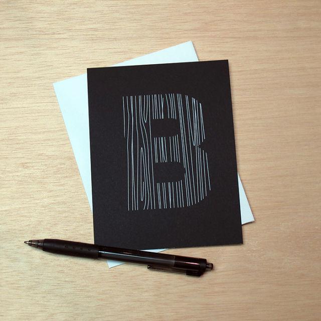 Binth Love Letters - B