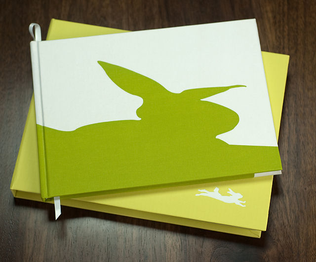 BINTH Baby Book in Original Grass Green Detail