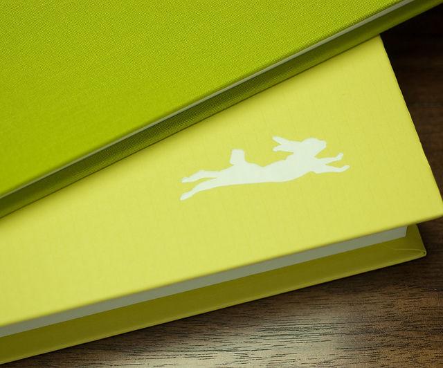 BINTH Baby Book in Original Grass Green Detail