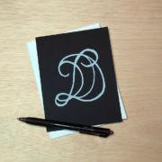 Binth Love Letters - D