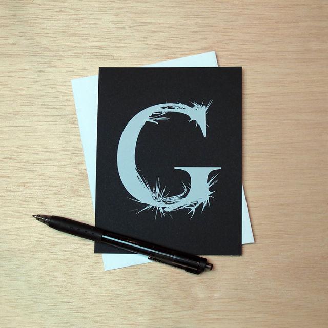 Binth Love Letters - G