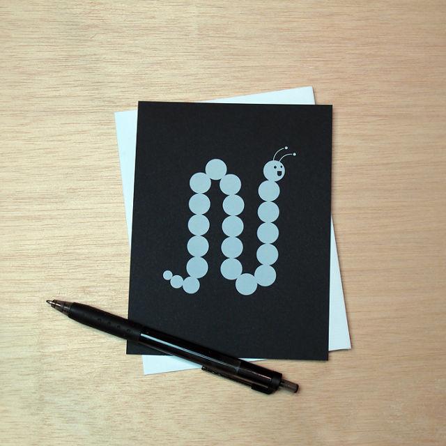 Binth Love Letters - N