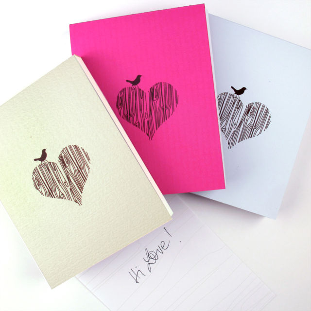Binth Lovebirds Note Pads