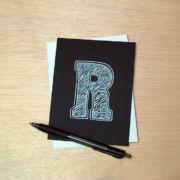Binth Love Letters - R
