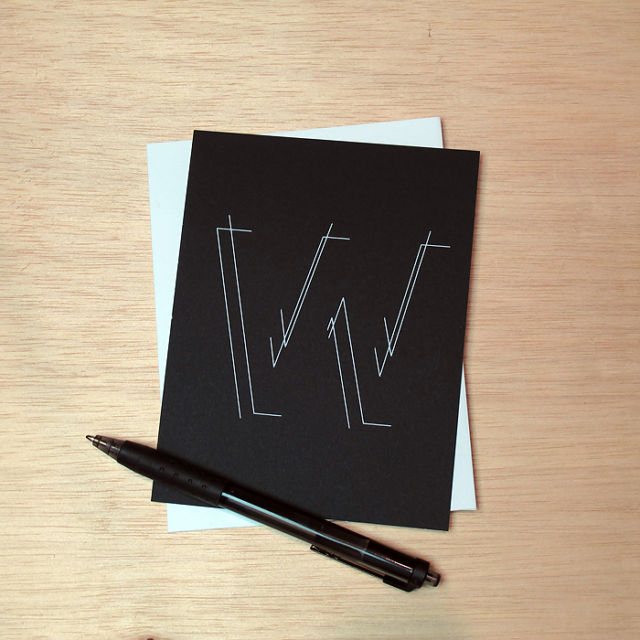 Binth Love Letters - W