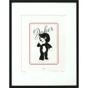 Joker Bear Print