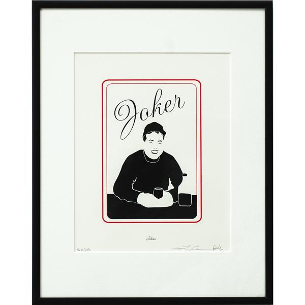 Joker Bear Paw Print