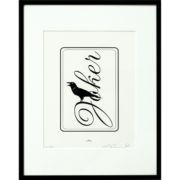 Joker Raven Print