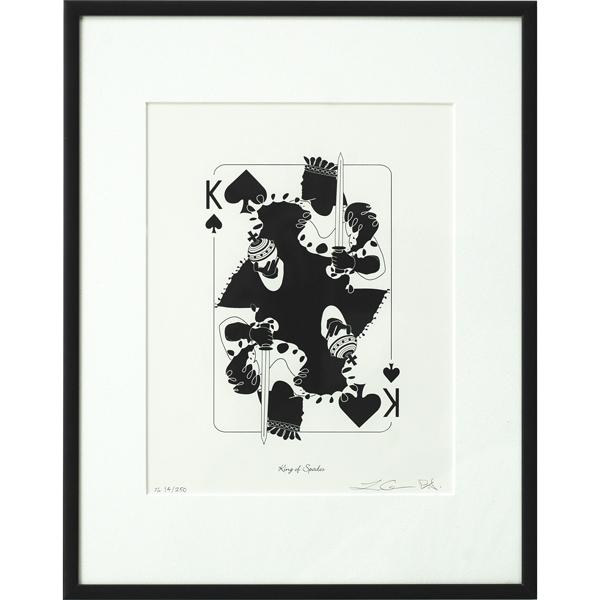 King of Spades Print