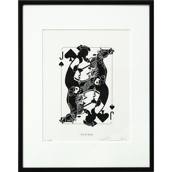 Jack of Spades Print
