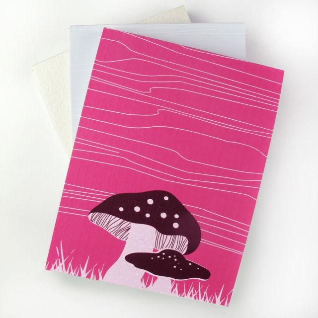 Binth Mushrooms Note Pads