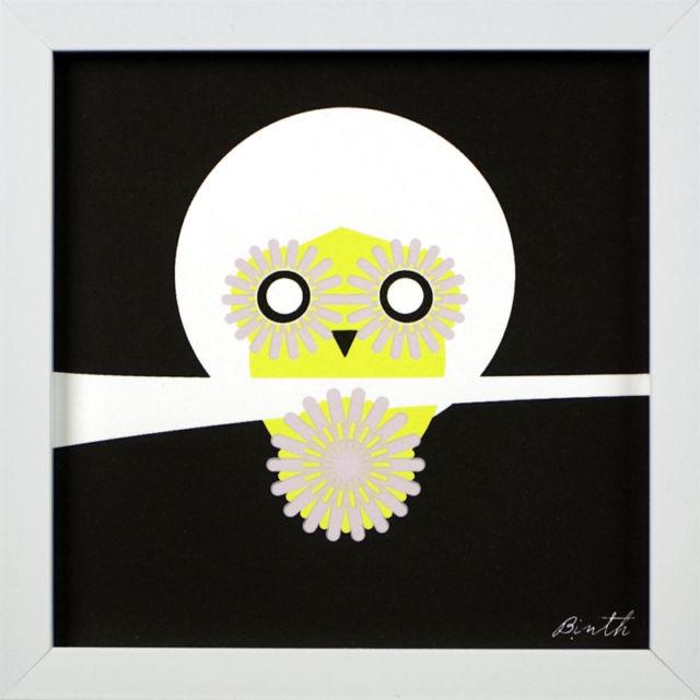 Binth Friends Framed Print - Owl