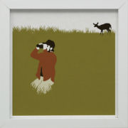 Ready-to-Hang Mankind Print - Deer Hunter